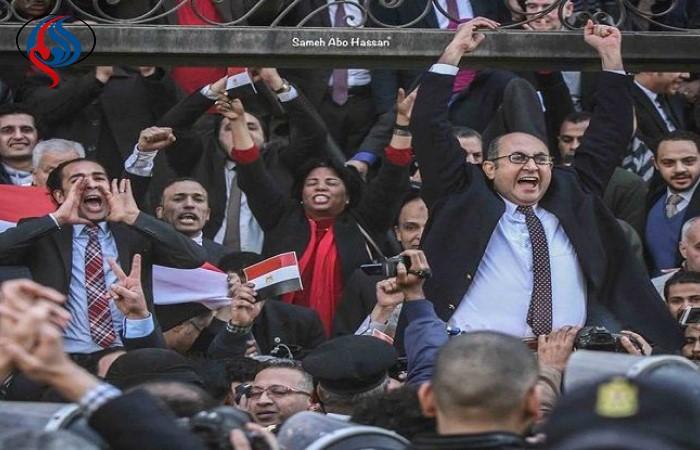 ويديو؛ شادي مصريها پس از اعلام حکم دادگاه دو جزيره